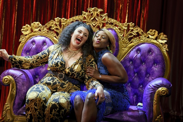 Photo Flash: First Look at the Public's AIN'T NO MO'