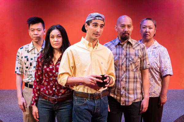 Anthony Chan, Rinabeth Apostol, David Crane, Jomar Tagatac, Michelle Talgarow Photo