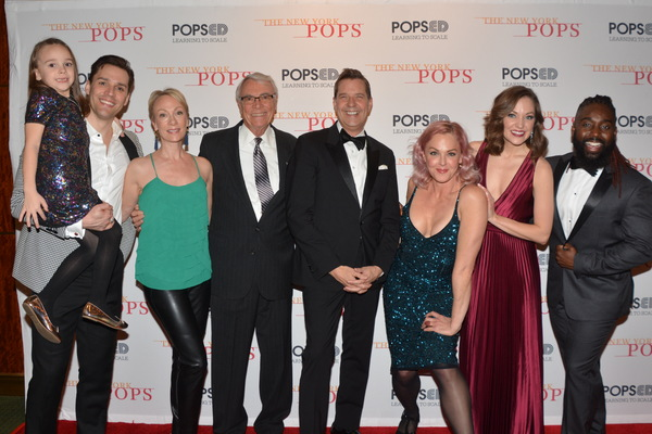 Ryan Silverman, Kim Craven, Steven Reineke, Storm Large, Laura Osnes and Mykal Kilgor Photo