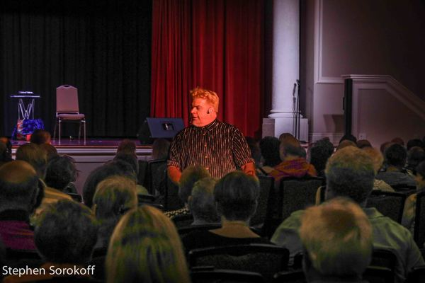 Photo Coverage: Judy Gold & Chipper Lowell - Magic and Comedy Have A Head On Collision