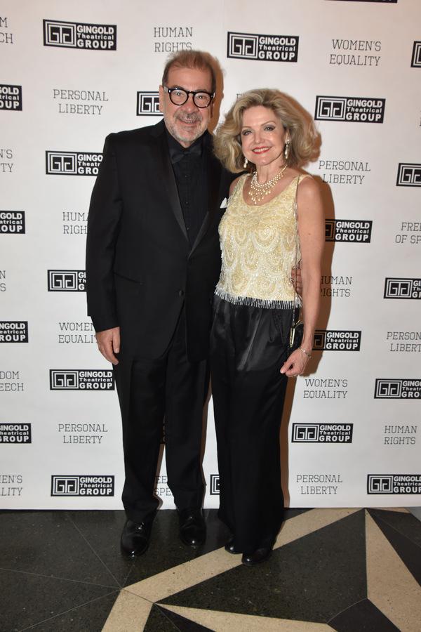 Steven Pavalkis and Alison Fraser