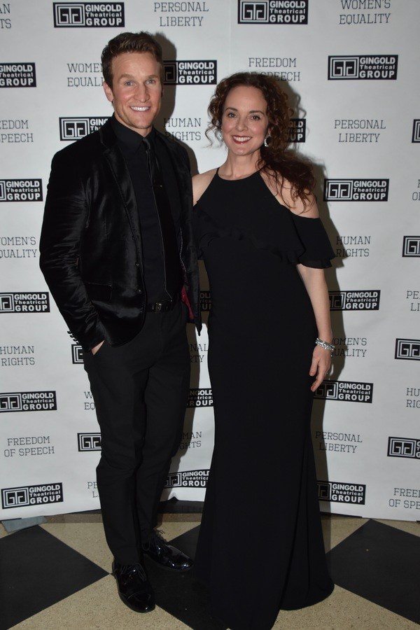 Claybourne Elder and Melissa Errico