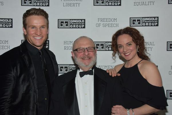 Claybourne Elder, Henry Aronson and Melissa Errico