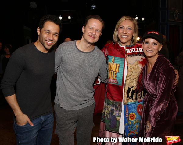 Corbin Bleu, Will Chase, Erica Mansfield and Kelli O'Hara Photo
