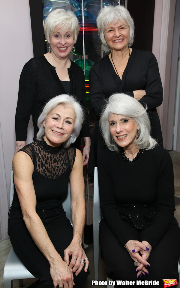 Louise Pitre, Nancy Opel, Jamie deRoy and Angelina Fiordellisi