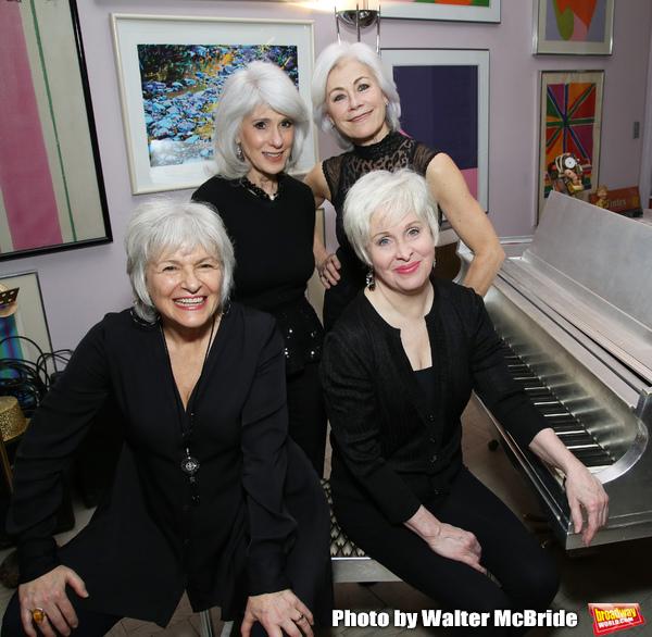 Angelina Fiordellisi, Jamie deRoy, Nancy Opel and Louise Pitre