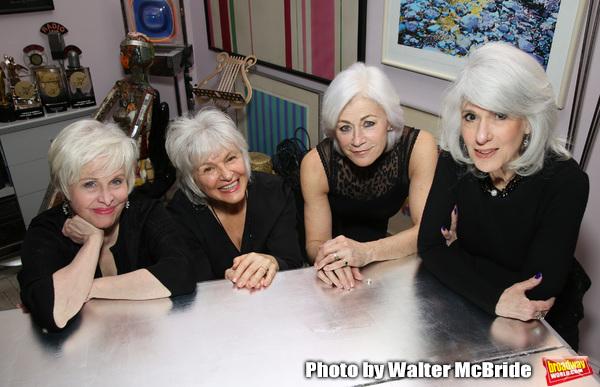 Nancy Opel, Angelina Fiordellisi, Louise Pitre and Jamie deRoy