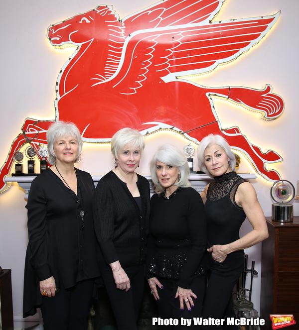 Angelina Fiordellisi, Nancy Opel, Jamie deRoy and Louise Pitre