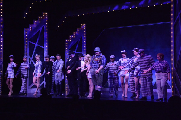 Jon J. Peterson, John Salvatore, Jason Simon,Richard Lafleur,  Gina Milo, Cody Marcukaitis and the Cast of The Producers