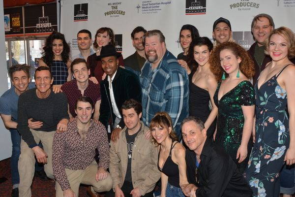 Jeffrey Lodin (Music Director) with the cast that includes, Richard Lafleur, Cody Narcukaitism Gina Milo Jon J. Peterson, John Salvatore, Jason Simon, Kyra Christoher, Jerome Doeger, Courtney Fekete, Carissa Fiorillo, Heather Kiobukowski, Ryan Koerber, Ge