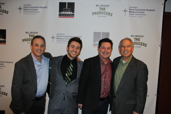 Jeffrey Lodin, Dylan Perlman, Evan Pappas and Mark Perlman