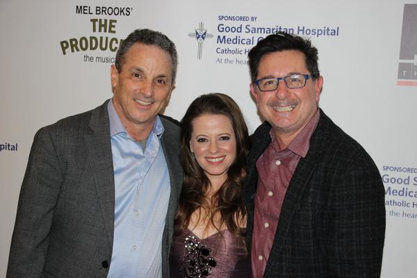 Jeffrey Lodin, Antoinette DiPietropolo (Choreographer) and Evan Pappas