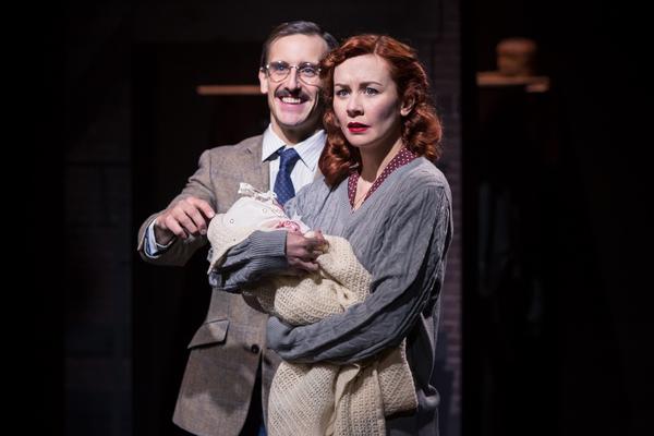 Henry Proffit (Jakob Rubenstein) & Eva-Jane Willis (Rachel Girschfeld) Photo