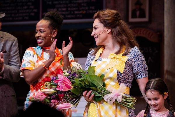 Photo Coverage: Opening Up! Shoshana Bean Takes Her First Bow in WAITRESS!