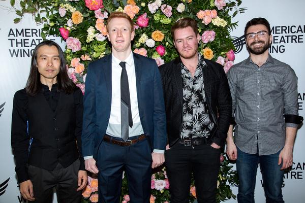 Hiroyuki Matsuura, Ben Wexler, Lorenzo Wolff, Mike Bono Photo