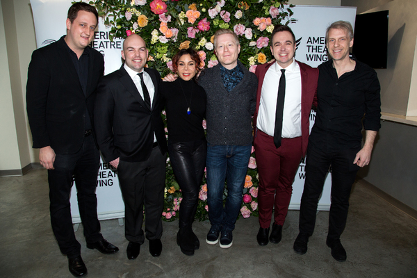 Brian Holtz, Chris Bill, Daphne Rubin-Vega, Anthony Rapp, Ben Rauhala, Eric Davis