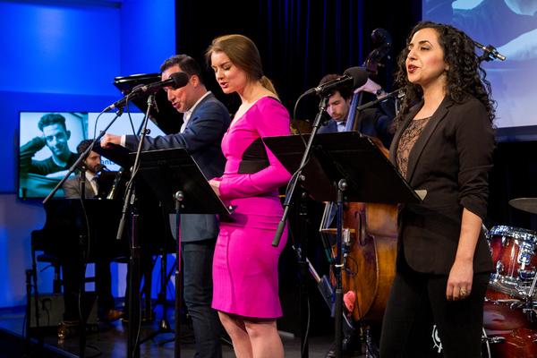 Avi Amon, Caesar Samayoa, Julia Gytri, Sharone Sayegh, and band Photo