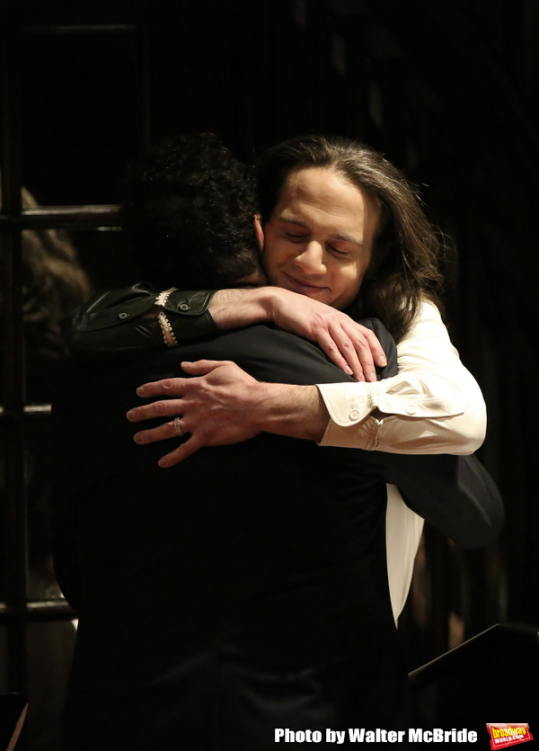 Tony Kushner and Jordan Roth