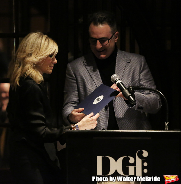 Judith Light and Jon Robin Baitz