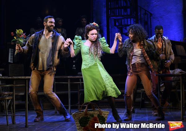 Timothy Hughes, Amber Gray and Afra Hines