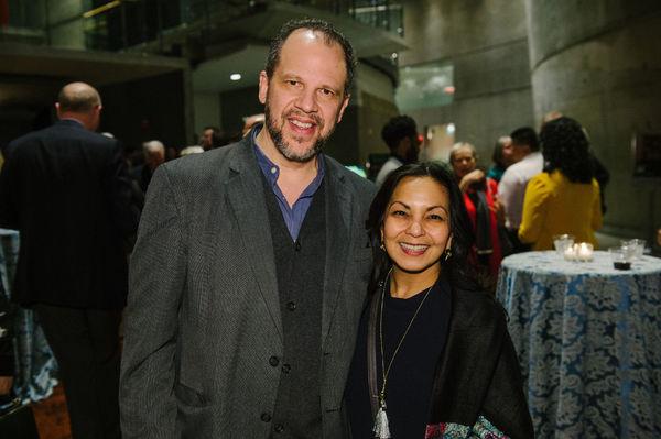 Aaron Posner and Seema Sueko