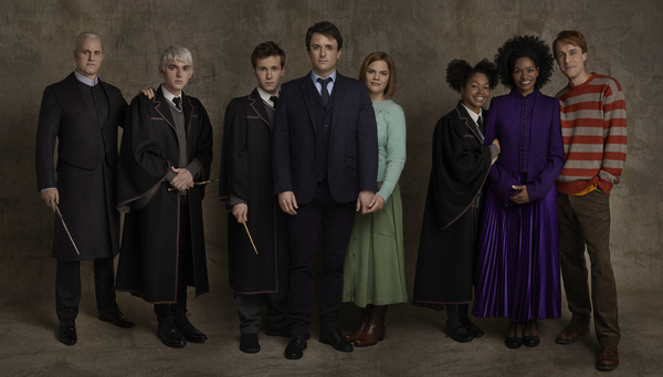 onno Roberts (as Draco Malfoy), Bubba Weiler (as Scorpius Malfoy), Nicholas Podany (as Albus Potter), James Snyder (as Harry Potter), Diane Davis (as Ginny Potter), Nadia Brown (as Rose Granger-Weasley), Jenny Jules (as Hermione Granger), Matt Mueller (as