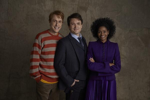Matt Mueller (as Ron Weasley), James Snyder (as Harry Potter), Jenny Jules (as Hermione Granger)