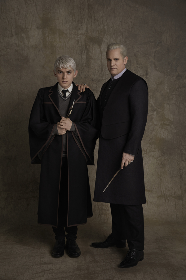 Bubba Weiler (as Scorpius Malfoy), Jonno Roberts (as Draco Malfoy)