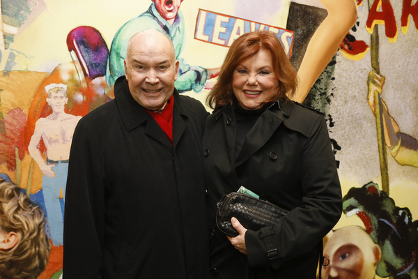 Jack O'Brian and Marsha Mason   Photo