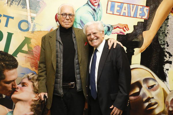 playwright John Guare and director Jerry Zaks Photo