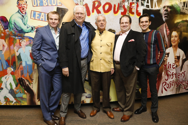Douglas Sills, John Larroquette, Germán Jaramillo, Jordan Gelber, and Adam Chanler Photo