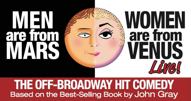 BWW Previews: AMADEO FUSCA STARS IN MEN ARE FROM MARS. WOMEN ARE FROM VENUS LIVE! at The Straz Center For The Performing Arts
