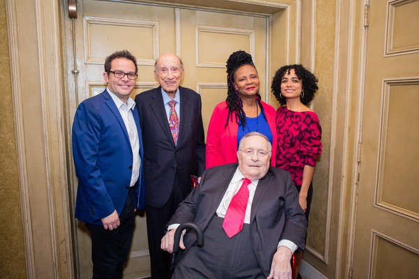 Paul L. King, Michael I. Sovern, Tonya Pinkins, Lauren Ridloff, and Phillip J. Smith Photo