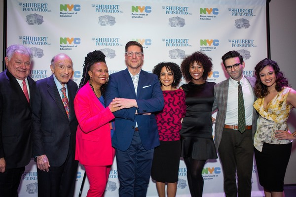 Tonya Pinkins, Christopher Sieber, Lauren Ridloff, Christina Soujous, Joe Iconis, and Isabelle McCalla