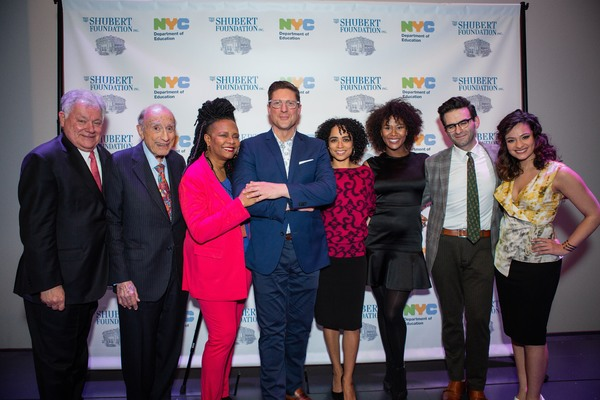 Robert E. Wankel, Michael I. Sovern, Tonya Pinkins, Christopher Sieber, Lauren Ridloff, Christina Soujous, Joe Iconis, and Isabelle McCalla
