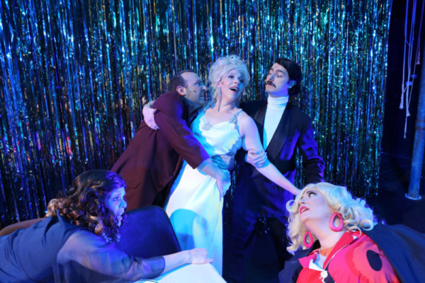 Photo Flash: Inside Hell In A Handbag's POSEIDON! An Upside Down Musical