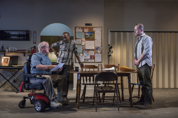 Photo Flash: First Look at DOWNSTATE at the National Theatre