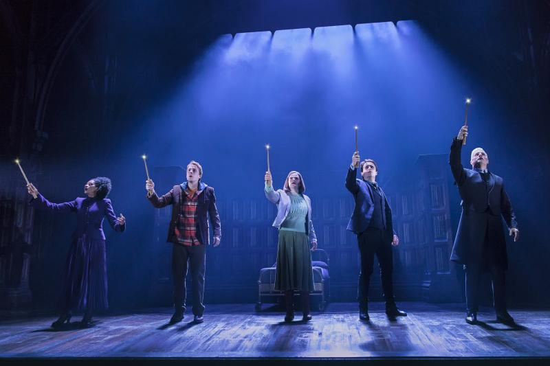 Photo Flash: New Cast Begins Tonight in HARRY POTTER AND THE CURSED CHILD- First Look!