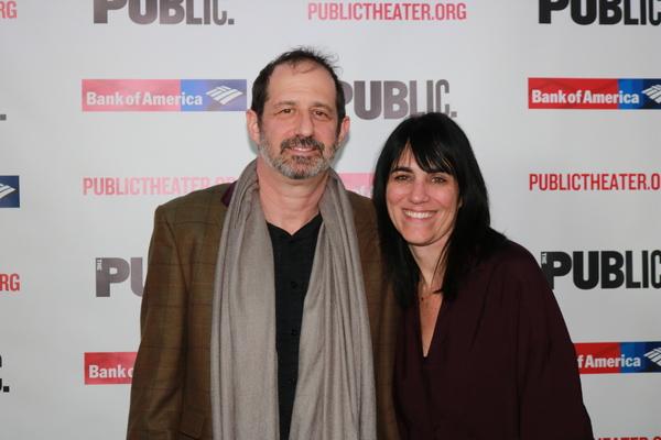 Ethan Lipton and Leigh Silverman Photo