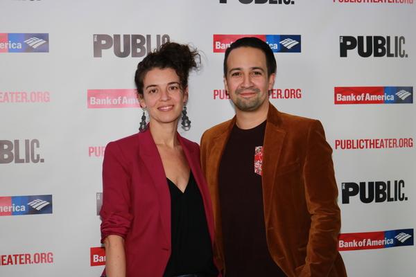 Quiara Alegria Hudes and Lin-Manuel Miranda