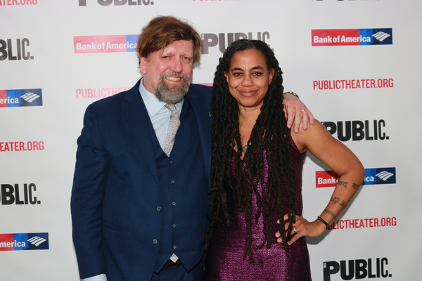 Oskar Eustis and Suzan-Lori Parks