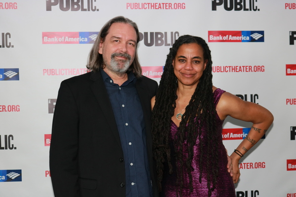 Christian Konopka and Suzan-Lori Parks Photo