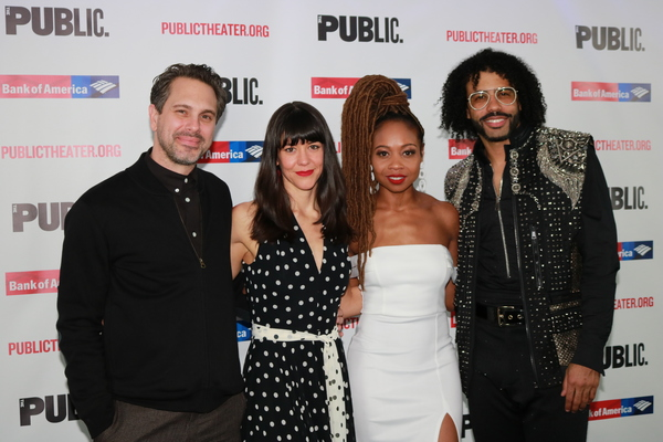 Thomas Sadoski, Zoe Winters, Sheria Irving and Daveed Diggs