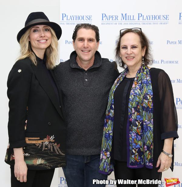 Kirsten Guenther, Nolan Gasser and Mindi Dickstein