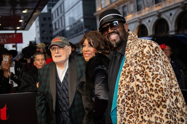 Shelly Berger, Mary Wilson, and Otis Williams