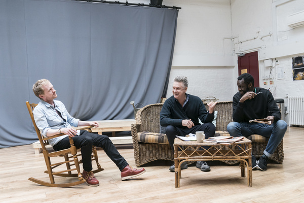 Gunner Cauthery, Bill Pullman and Sule Rimi Photo
