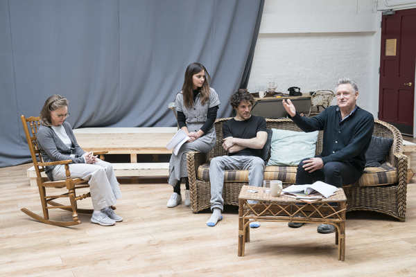 Sally Field, Jenna Coleman, Colin Morgan and Bill Pullman Photo