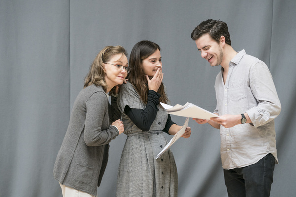 Sally Field, Jenna Coleman and Oliver Johnstone