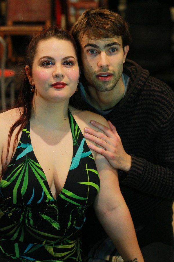Photo Flash: First Look At TIME IT IS: TO MUSIC, A New Musical At Theater For The New City