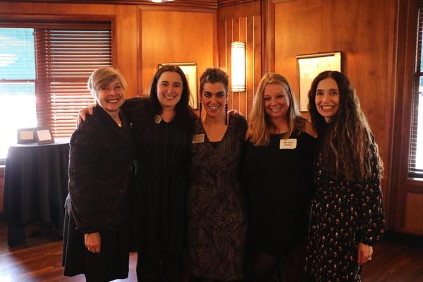 Rhona Frazin, Sara Siegall, Michelle Cucchiaro, Brenda Didier and Tamara Sims